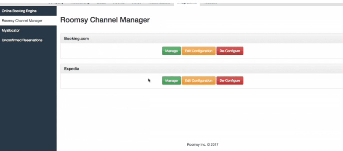 Roomsy Channel Manager Integration